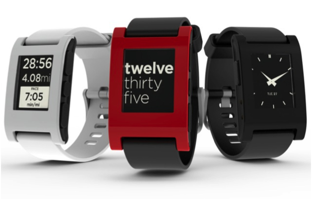 Crowdfunding Pebble