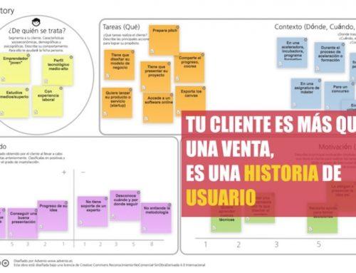 User Story: Tu cliente es más que una venta, es una historia de usuario