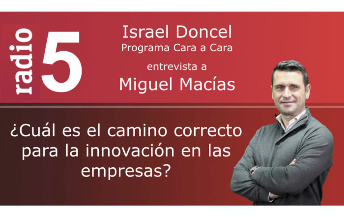RNE5 Miguel Macías