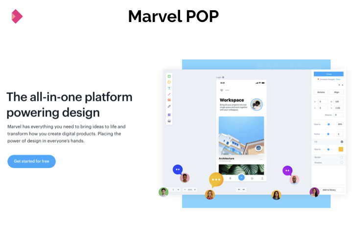 POP Marvel
