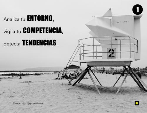 Cómo explorar oportunidades de negocio: tendencias y análisis del entorno y la competencia