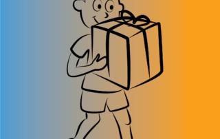 personaje regalo